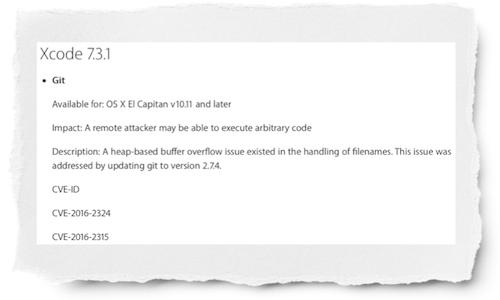 Xcode 7.3.1