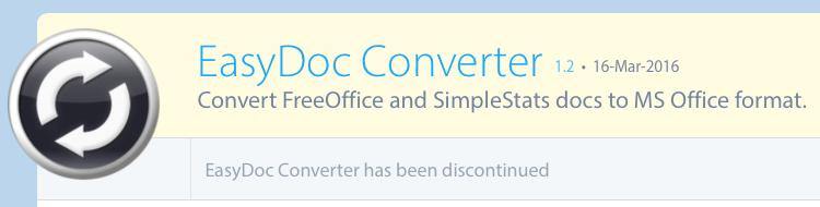 EasyDoc Converter malware
