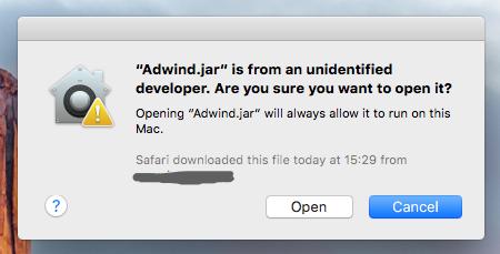 Adwind Gatekeeper Override