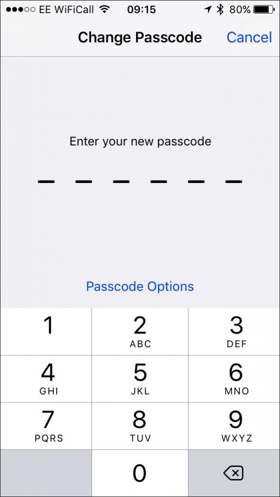 change-passcode