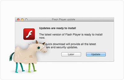 SilverInstaller Fake Flash Player