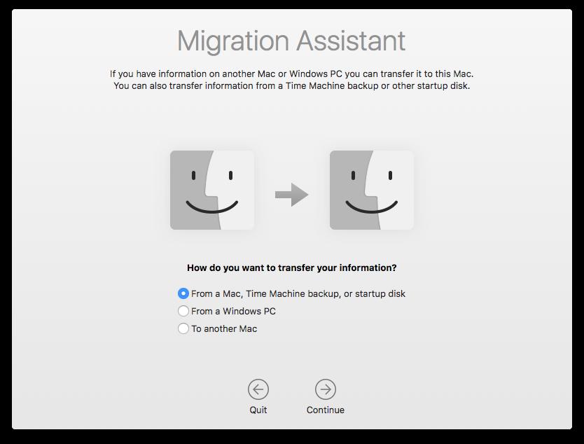 Migration Assistance