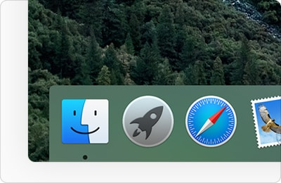 The Dock macOS Sierra
