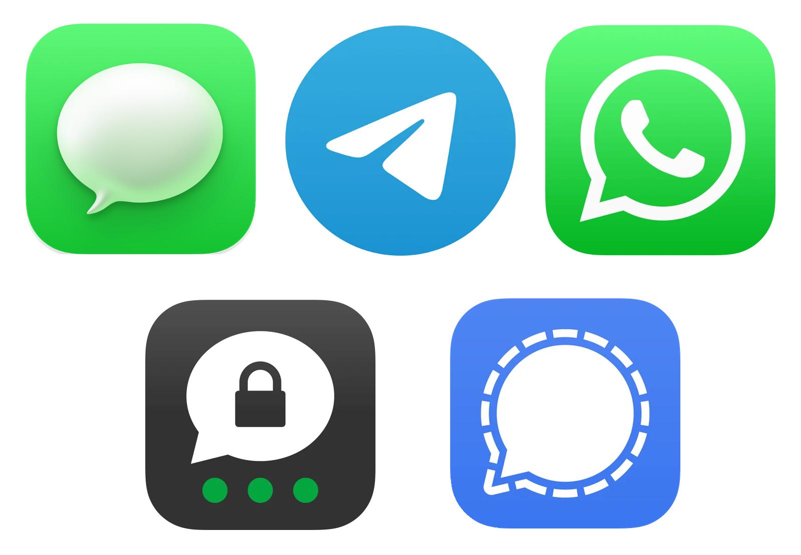 Android app secret messenger 9 iPhone