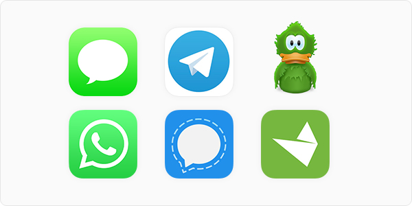 Secure Messaging App Options for Mac and iOS