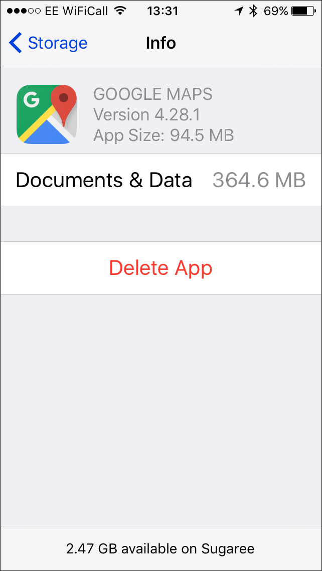 iPhone Documents & Data