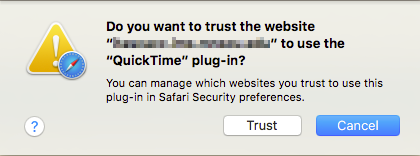 Do you want to trust the website?