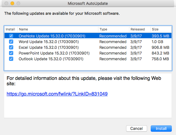 How to tell if an Office for Mac update is valid | The Mac