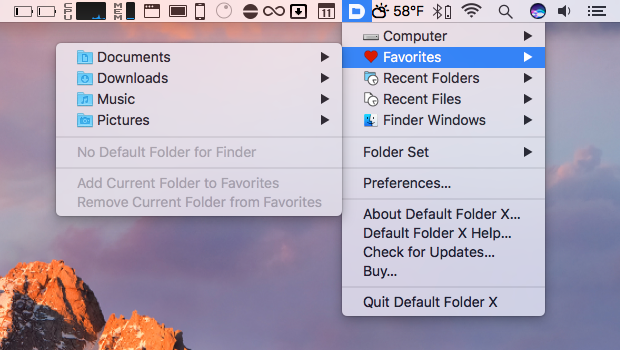 15 of the best menu bar extras for macos sierra the mac security blog