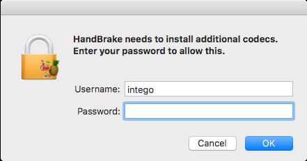 Handbrake malware install