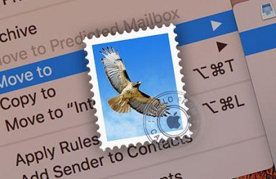 Mac filing email