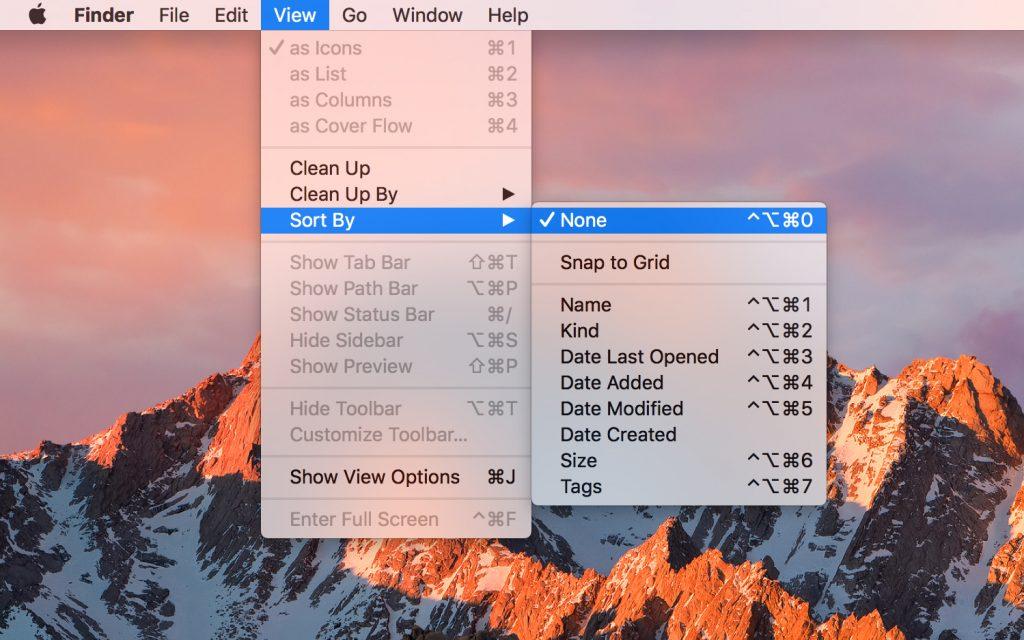 Navigate macOS menus with your keyboard