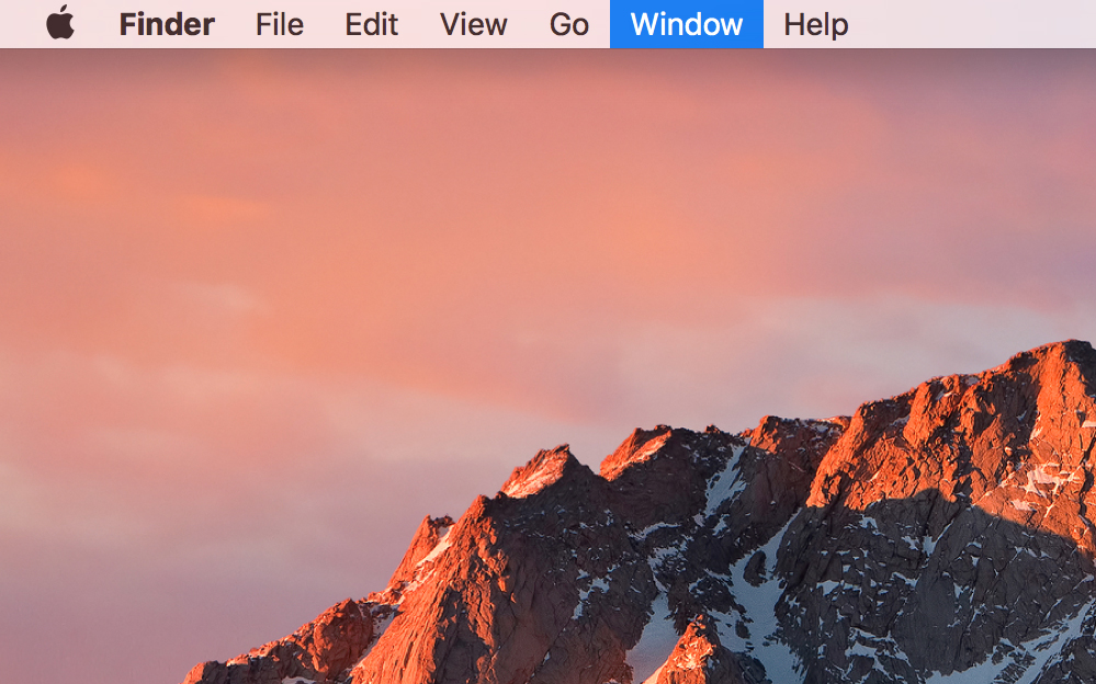 Navigate the menu bar with your keyboard