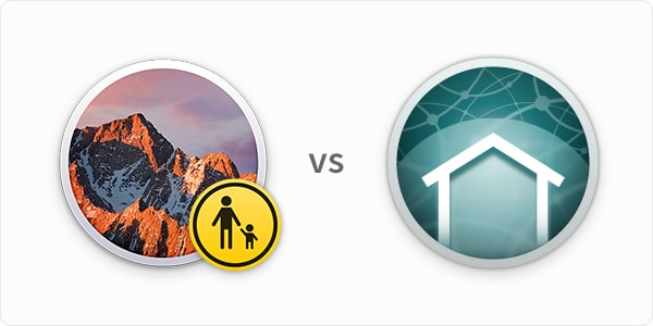 macOS Parental Controls vs Intego ContentBarrier