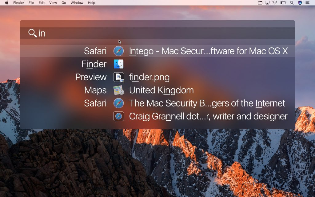 application switcher mac not working