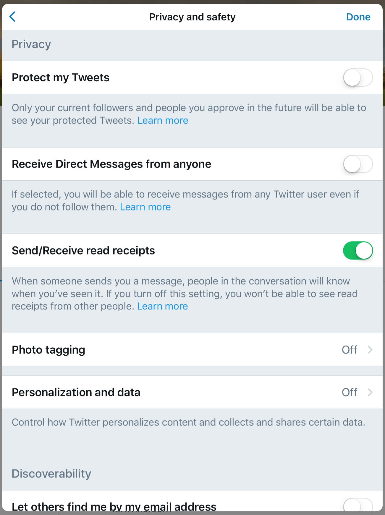 privacy and twitter As a twitter user, you have the option of publicly displaying your tweets or keeping them private private tweets are only displayed to the people who follow you by default, your tweets are.