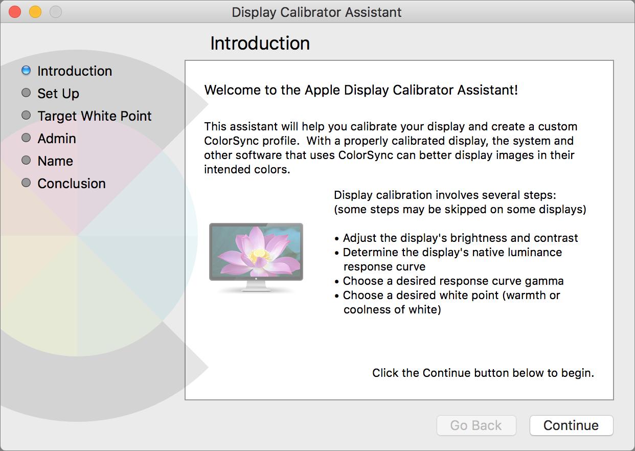 Color Calibrating Your Mac's Display