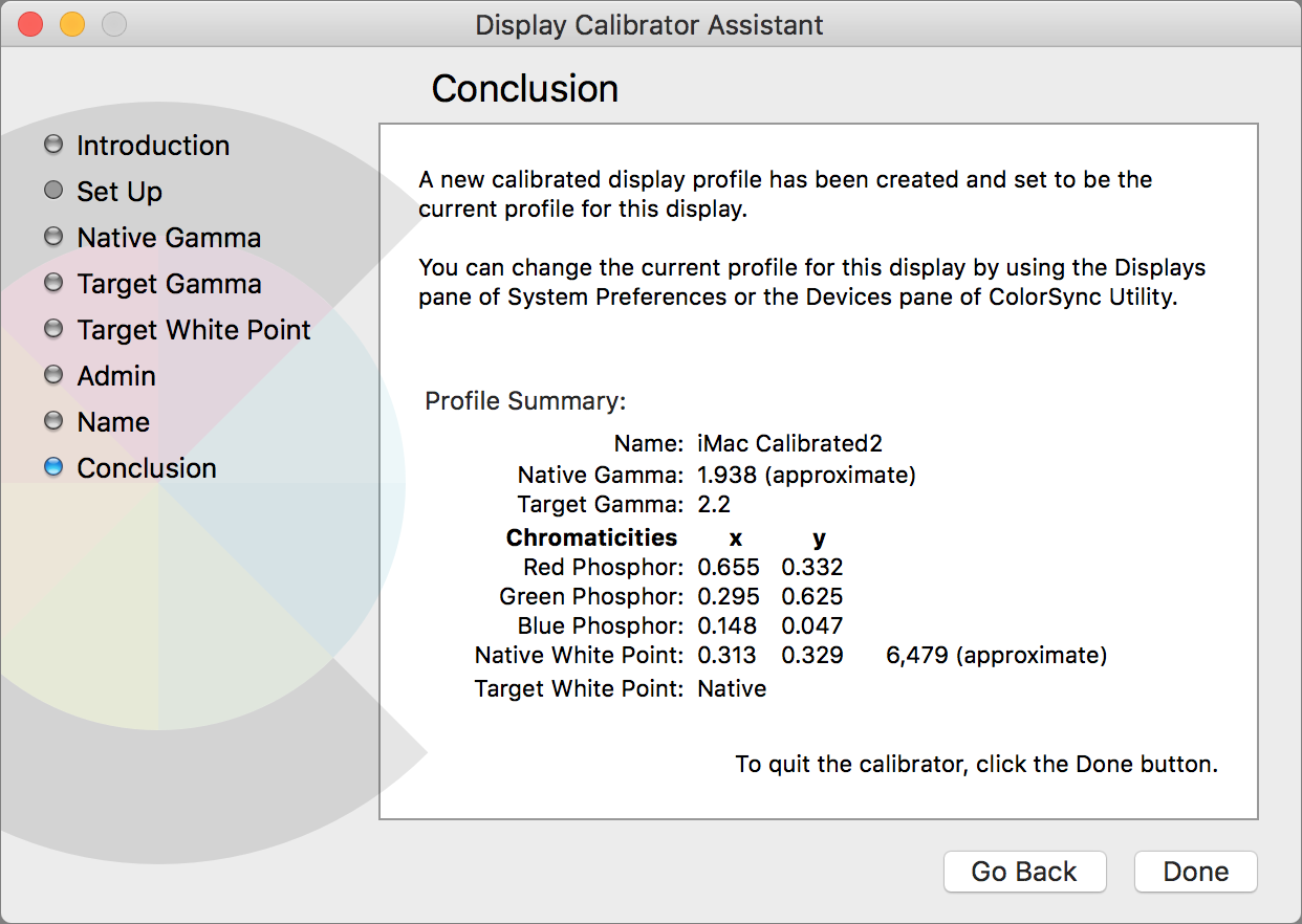 Display Calibrator Conclusion