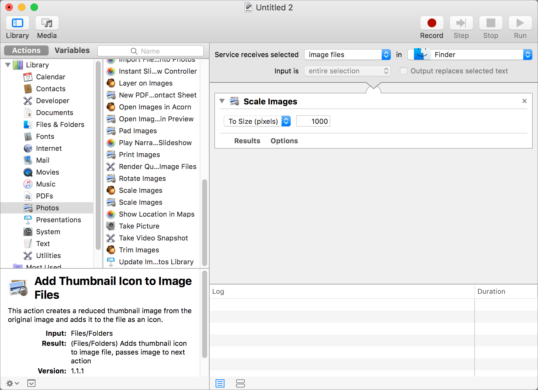 Use Automator to Convert and Resize Image Files | The Mac