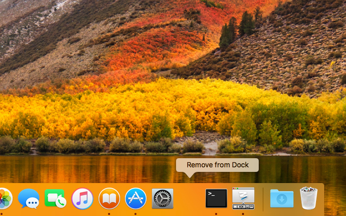 Add macOS Dock spacers