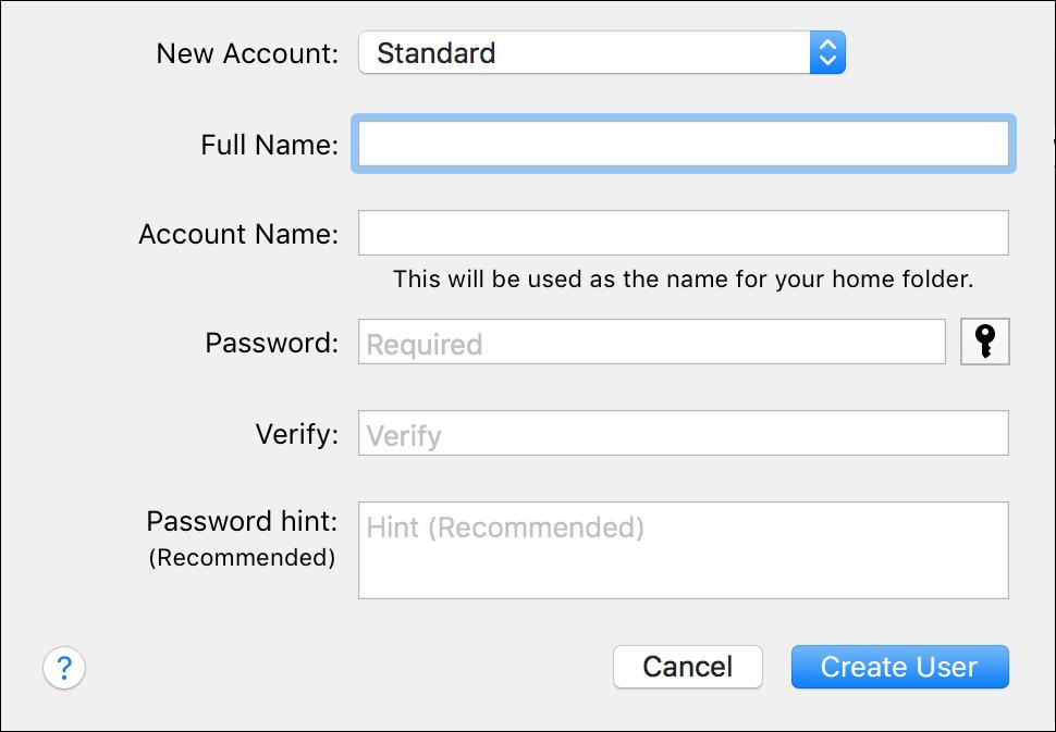 Understanding User Accounts in macOS | The Mac Security Blog