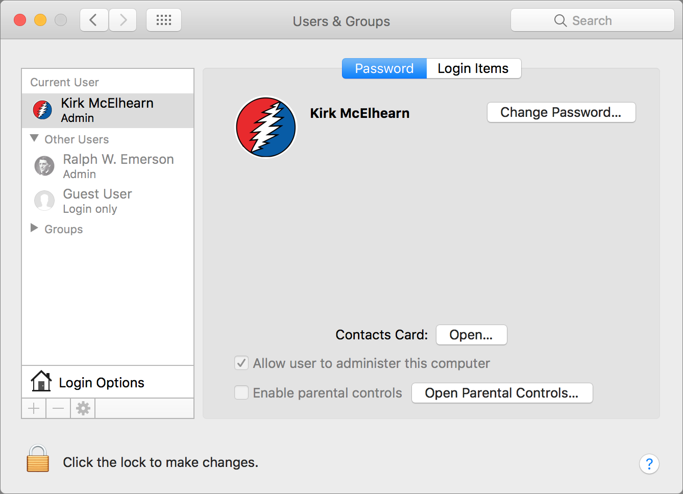 Understanding User Accounts in macOS | The Mac Security Blog