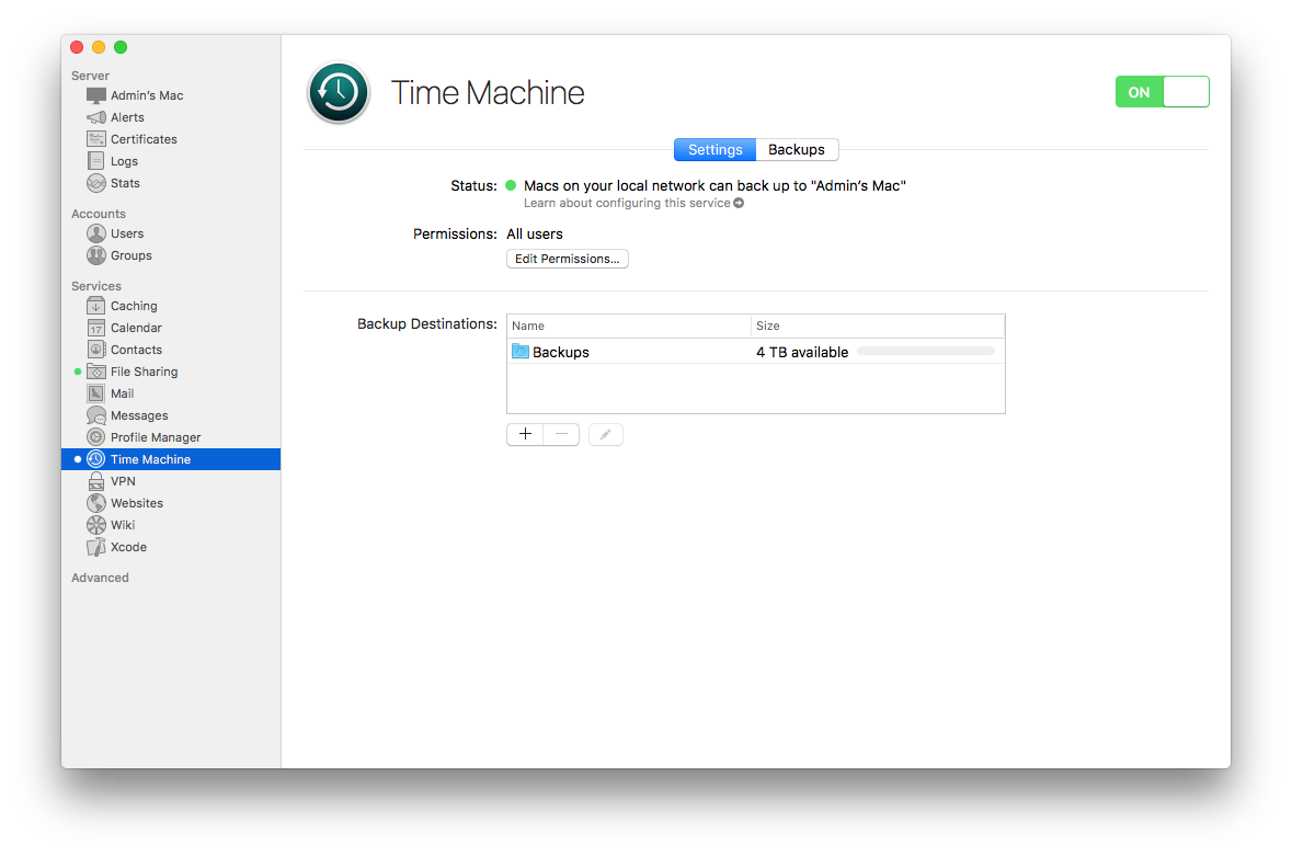 How to Set up Your Own Time Machine Server | The Mac