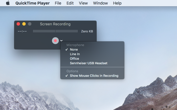 Record your Mac's screen