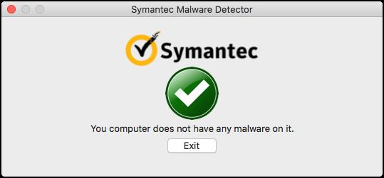 Symantec Malware Detector