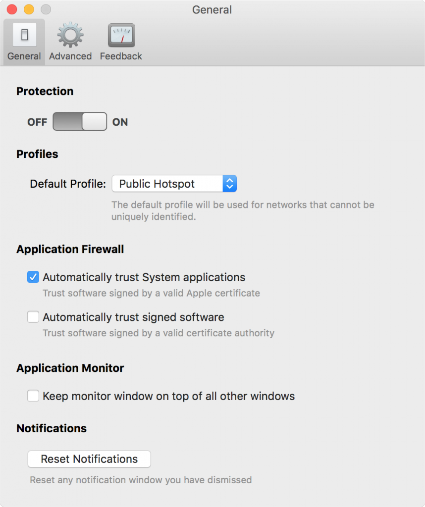 Intego NetBarrier X9 Compared to macOS Catalina's Firewall