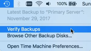 How to Verify Your Backups are Working Properly   The Mac