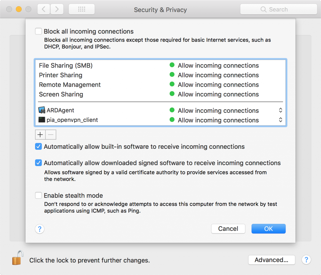 Intego NetBarrier X9 Compared to macOS High Sierra's Firewall | The
