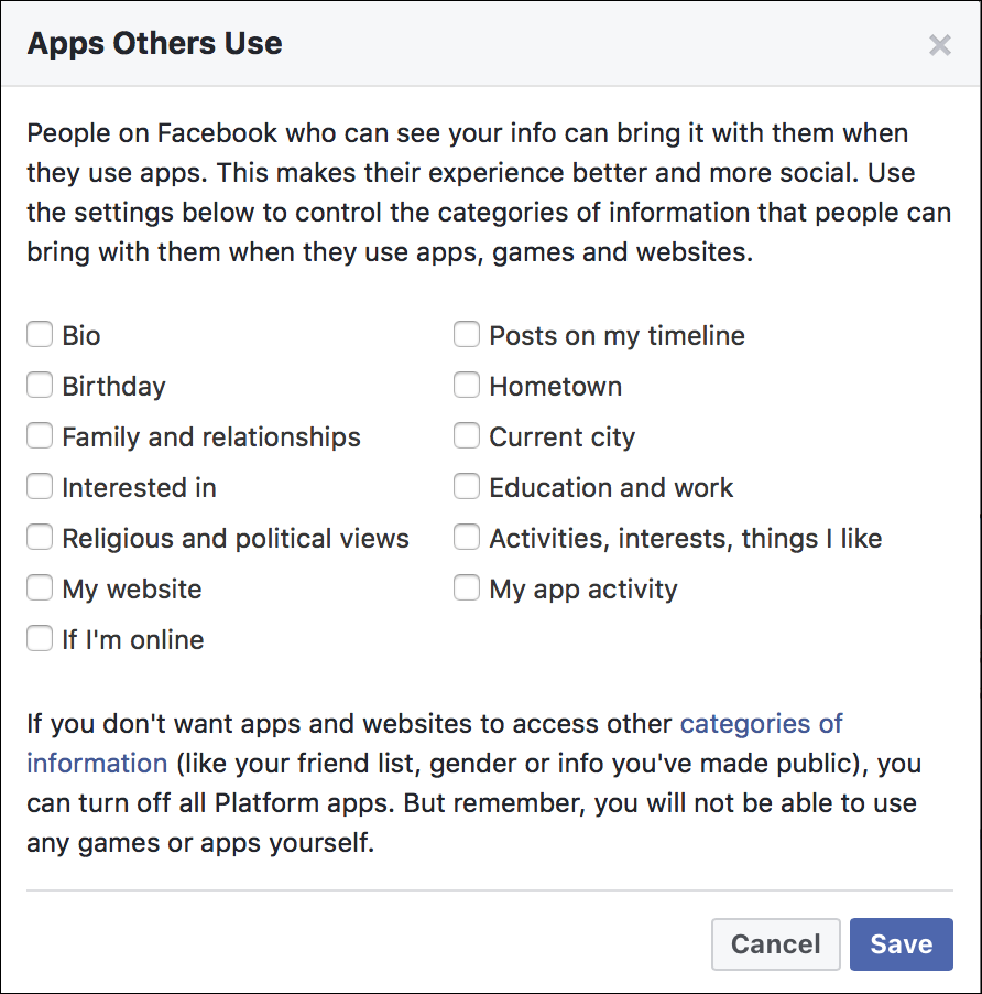 How to Prevent Facebook Apps from Accessing Your Profile Information
