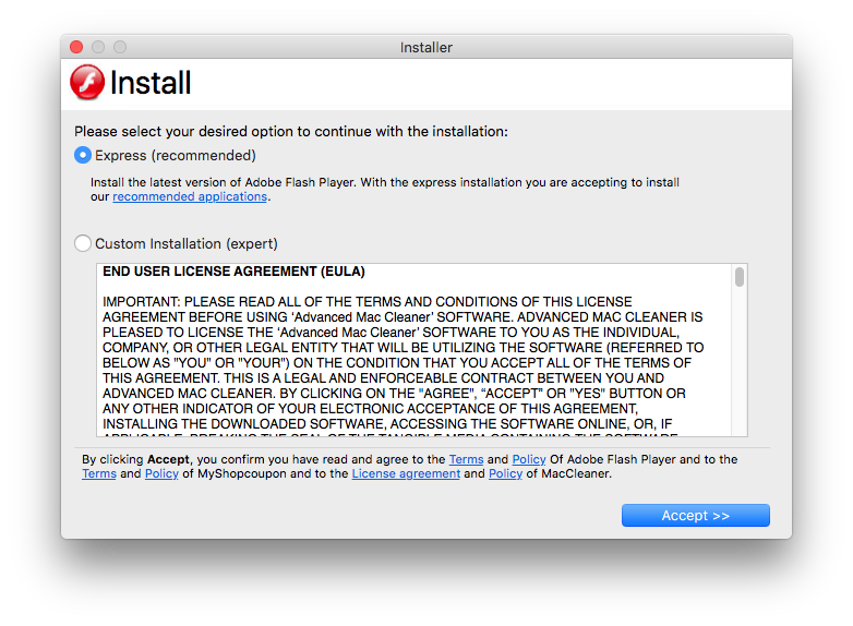 New OSX/Shlayer Malware Variant Found Using a Dirty New