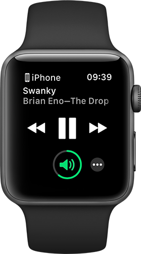 Play Music on iPhone with Apple Watch
