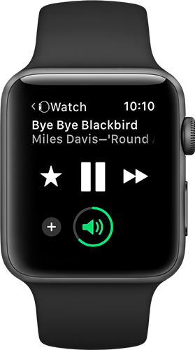 Stream Music to the Apple Watch