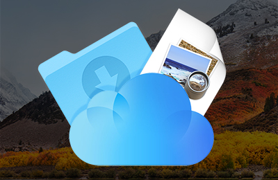 Downloads Mac Screenshots iCloud Drive