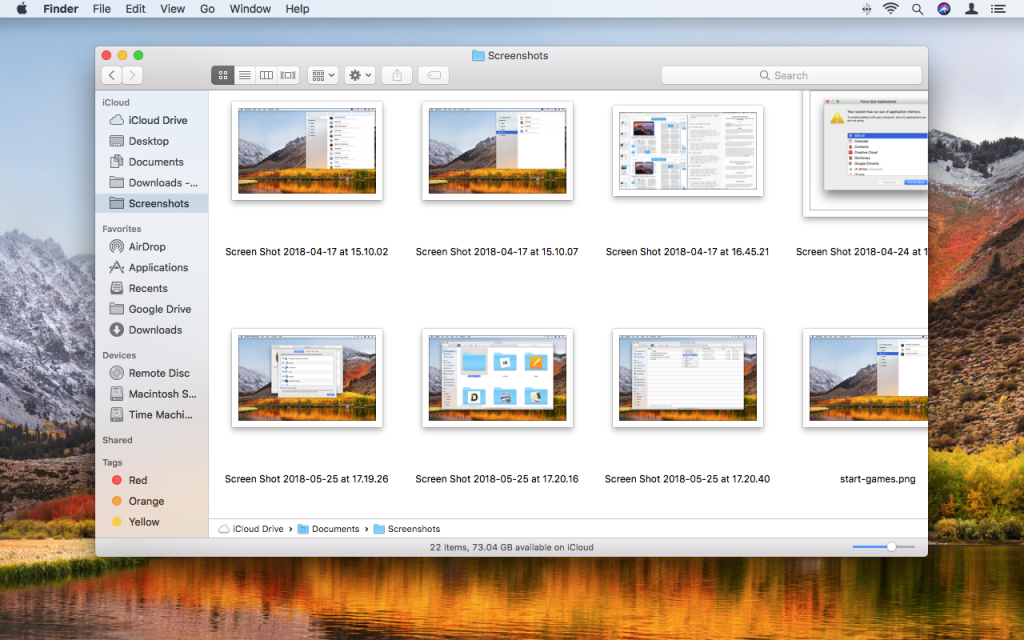 How to Move Browser Downloads and Mac Screenshots to iCloud