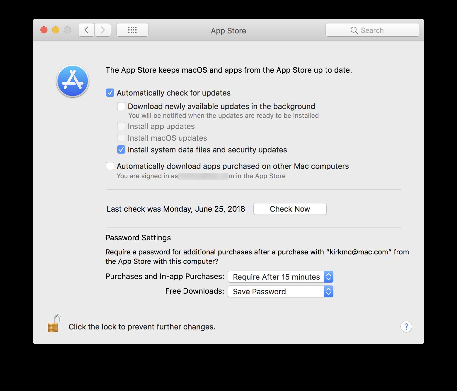 macos app store