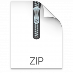 macOS ZIP file attachment icon