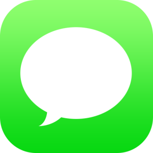 Apple Messages (iMessage) icon iOS 12