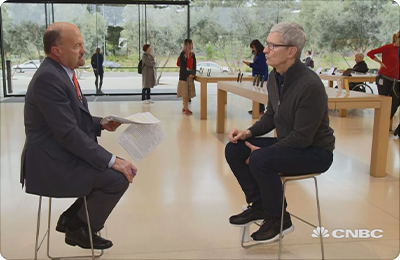 Tim Cook, Jim Cramer CNBC Interview: It's the Apple Ecosystem, Stupid