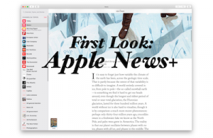 First Look at Apple News+ for Mac