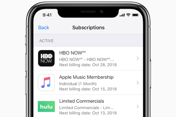 How to manage iTunes Store and App Store Subscriptions | The