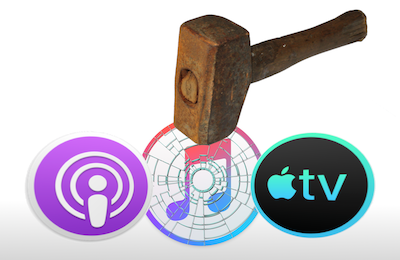 Apple could break up iTunes into separate Podcast, Apple TV, and other apps
