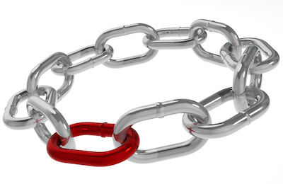 OSX/Linker red link in chain