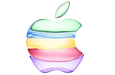 "Apple logo from ""By Innovation Only"" event September 10, 2019"