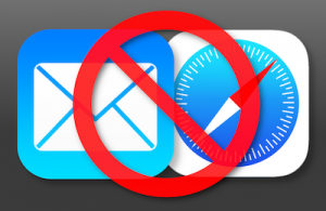How to change default iOS email and browser apps