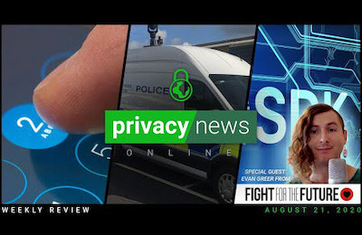 Privacy News Online weekly recap for August 21, 2020