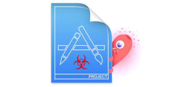 Xcodeproj file infected with XCSSET - Mac malware logo